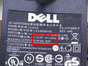 ac adaptör ,notebook şarj adaptörü akım ve voltaj değerleri